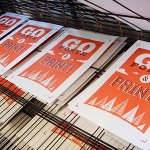 WYPWcourses - Screen Printing Posters - March