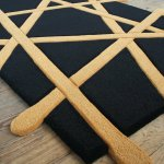 Hand Tufted Chop Sticks Rug
