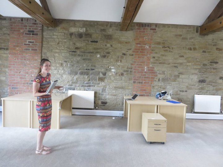 Moving into our new office