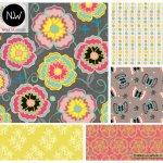 Natalie Williamson Full Bloom Surface Pattern Collection