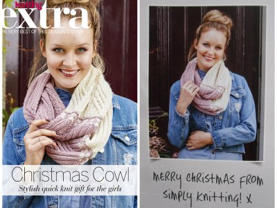 1st Pattern published in the UK Simply Knitting magazine