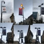 Arts and Cultural banner campaign in Huddersfield 2020