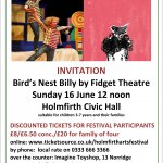 Celebrate Father's Day at Holmfirth Arts Festival 2019
