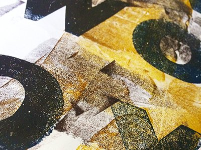 Experimental Letterpress & Monoprint – September