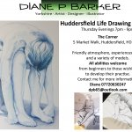 Huddersfield life drawing sessions