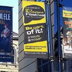 Huddersfield's Cultural Offer - Banners in Town Centre