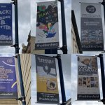 Lamppost Banners promoting the Cultural Offer of Huddersfield
