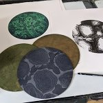 Lino etching summer school - August