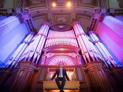 Lunchtime Organ Concerts in Huddersfield Town Hall