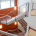 MCJ Fabrications complete metalwork for MD's former College in D