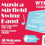 Musica Mirfield Swing Band - This Saturday