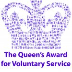 Queens Award for Voluntary Service given to GNUF!
