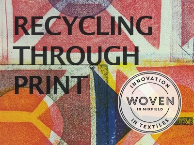 Recycling Through Print - FREE Family activity - 8 & 15 June
