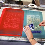 Screen Printing: Textiles – February