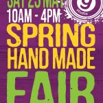 Spring Handmade Fair Saturday 25th May
