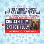 Streaming Across The Sea online festival coming up in July