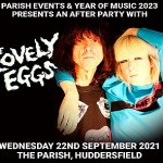 The Lovely Eggs Headline Year of Music 2023 Launch Afterparty!