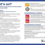 What's on in the Piazza and Queensgate Market in Feb