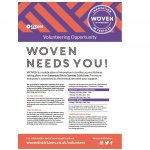 WOVEN - Volunteers wanted now!