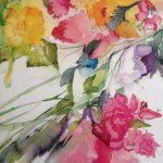 adele d / juicywatercolours artworks, demonstrations, workshops & retreats