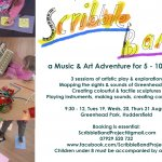 Scribble Band / Music & Arts Adventures for 5- 10 year olds