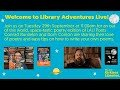 Library Adventures Live! Conrad Burdekin and Dom Conlon