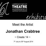Meet the Artist : Create 14 - Jonathan Crabtree