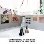 Contemporary Art Exhibition by Carl Cashman and James Derwin
