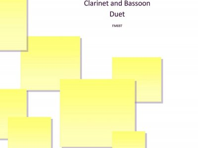 Ebb tide- a collection of three duets for clarinet and bassoon