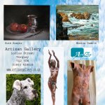 Exhibiting at Artizan Gallery, Lucius Street, Torquay.