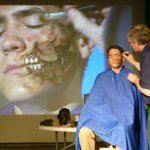 Gruesome demonstration captivates and inspires art students