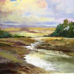 MARION SAWL – EXHIBITION OF LANDSCAPE PAINTINGS AT THE BEEHIVE