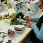 Follow-on workshop to Introduction to free-machine embroidery