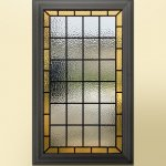 Simple stained glass designs by onglass.co.uk