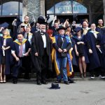 The sun shines for Plymouth College of Art Graduation