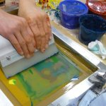 Screen Printing Sessions