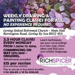 New art classes starting in May. Let me be your guide...