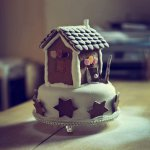 Christmas Cottage Cake